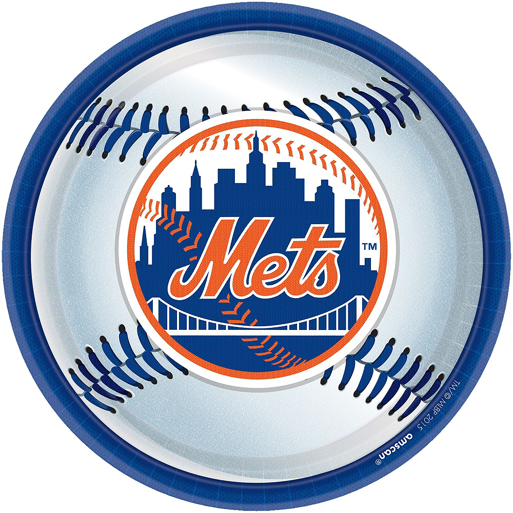 New York Mets Super Party Kit for 18 Guests Image #2