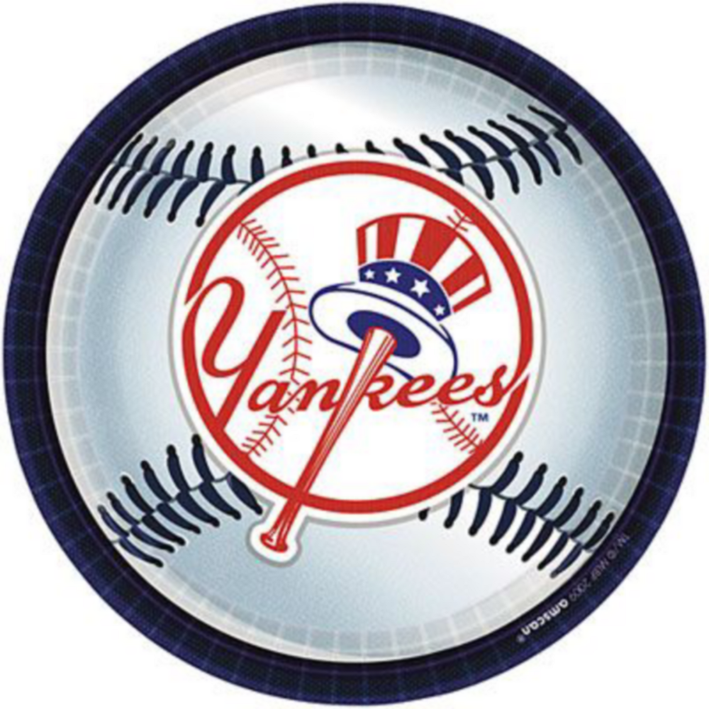 New York Yankees Super Party Kit for 18 Guests Image #2