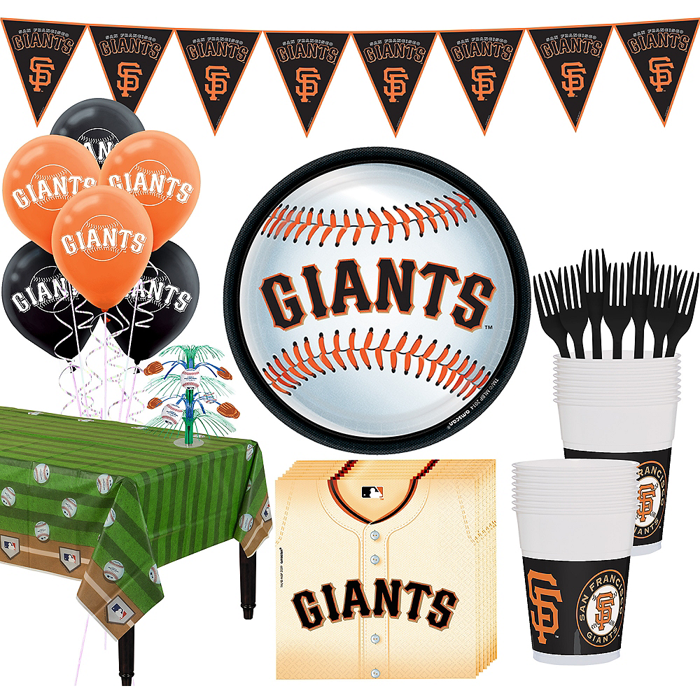 San Francisco Giants Super Party Kit for 18 Guests Image #1