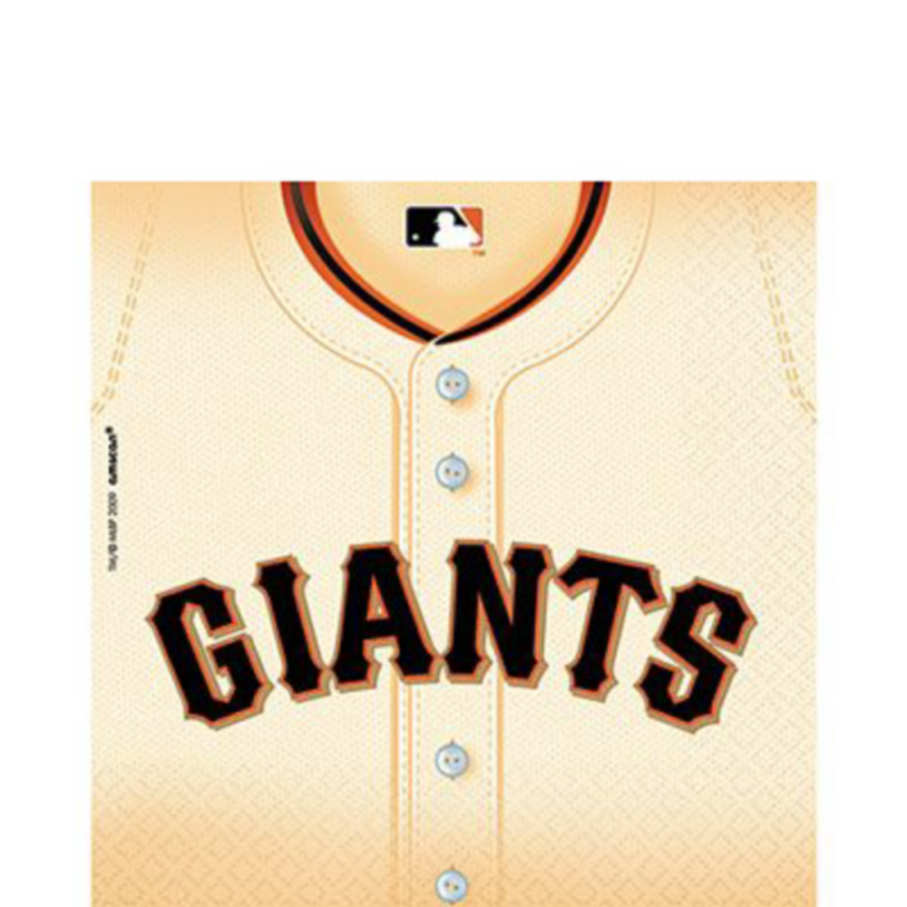 San Francisco Giants Super Party Kit for 18 Guests Image #3