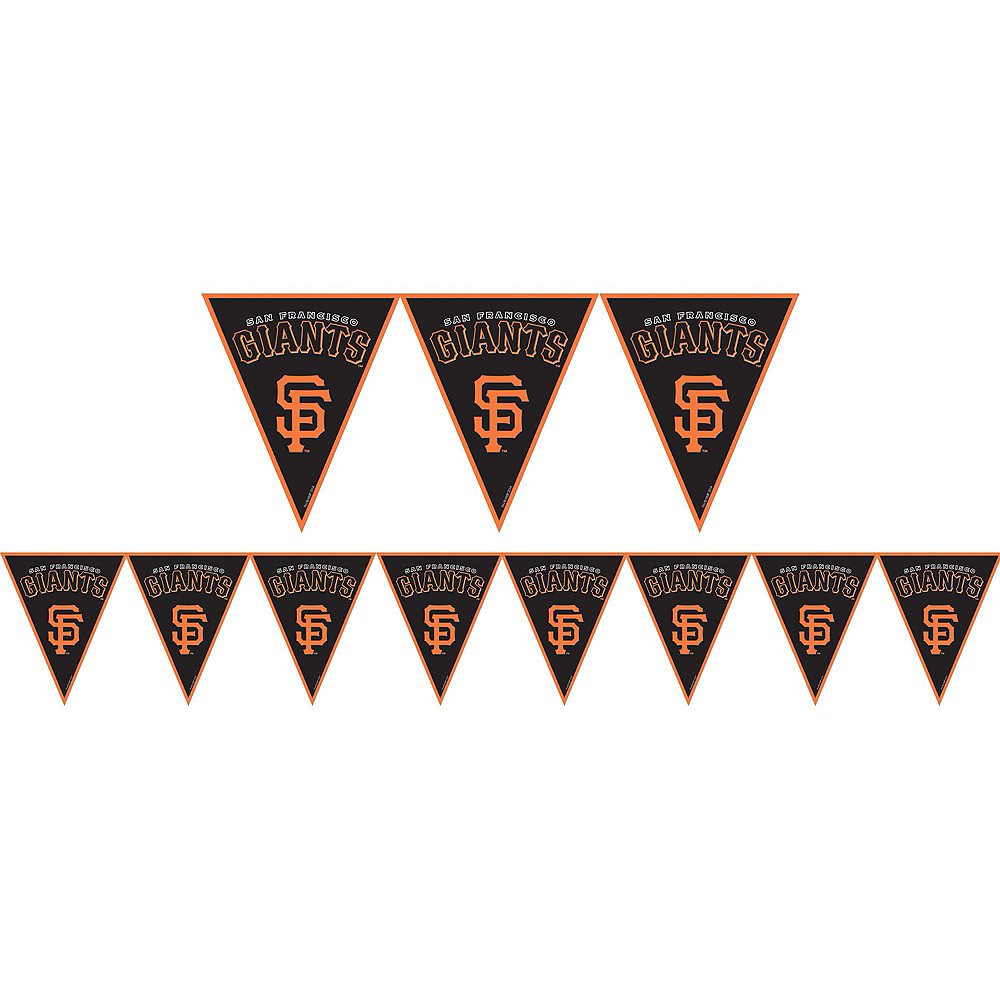 San Francisco Giants Super Party Kit for 18 Guests Image #7
