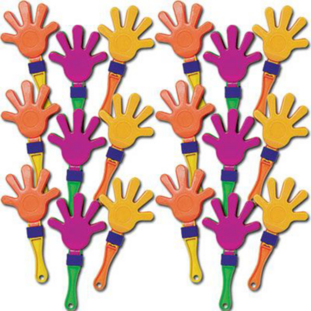 Nav Item for Neon Hand Clappers 18ct Image #2
