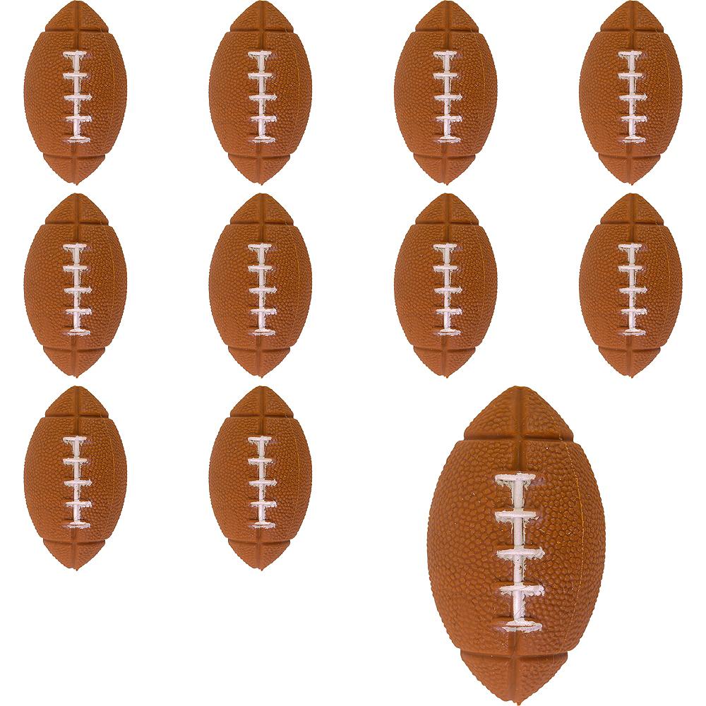 Football Bounce Balls 24ct Image #1