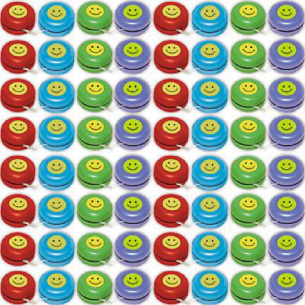 Smiley Yo-Yos 48ct Image #2