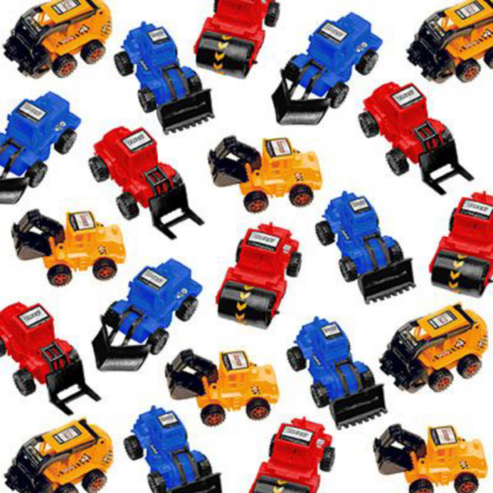 Pull Back Construction Vehicles 24ct Image #2