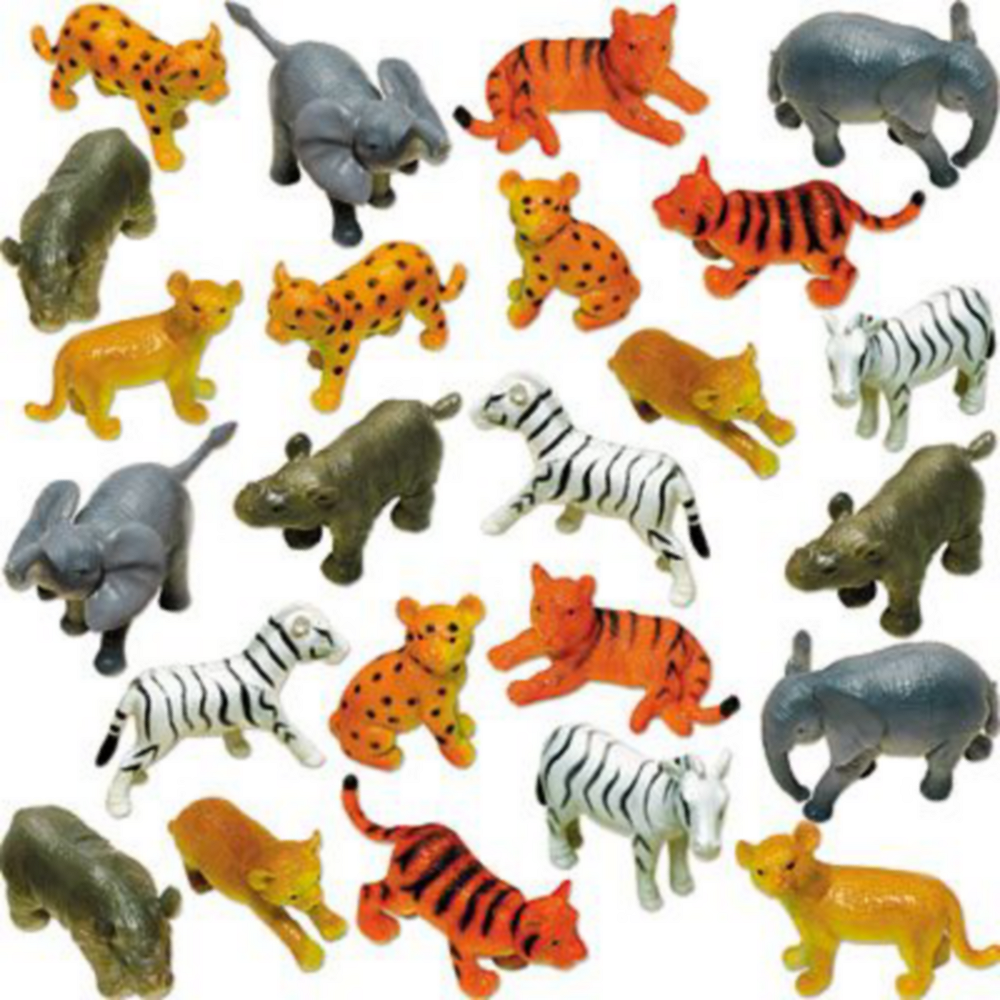 Baby Jungle Animals 24ct Image #2