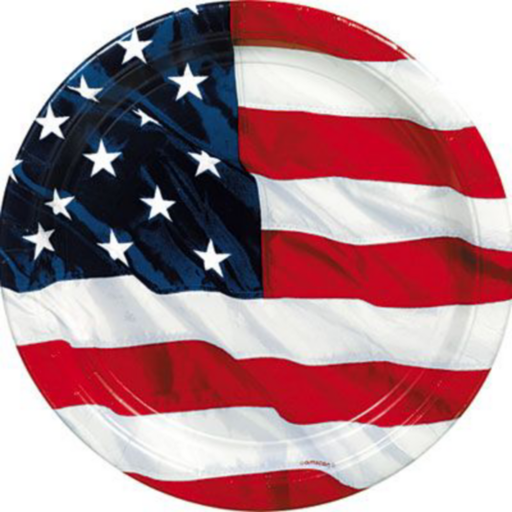 Flying Colors American Flag Party Pack for 16 Guests Image #8