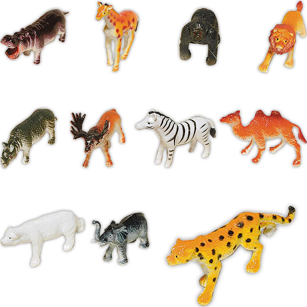 wild animals 48ct party city