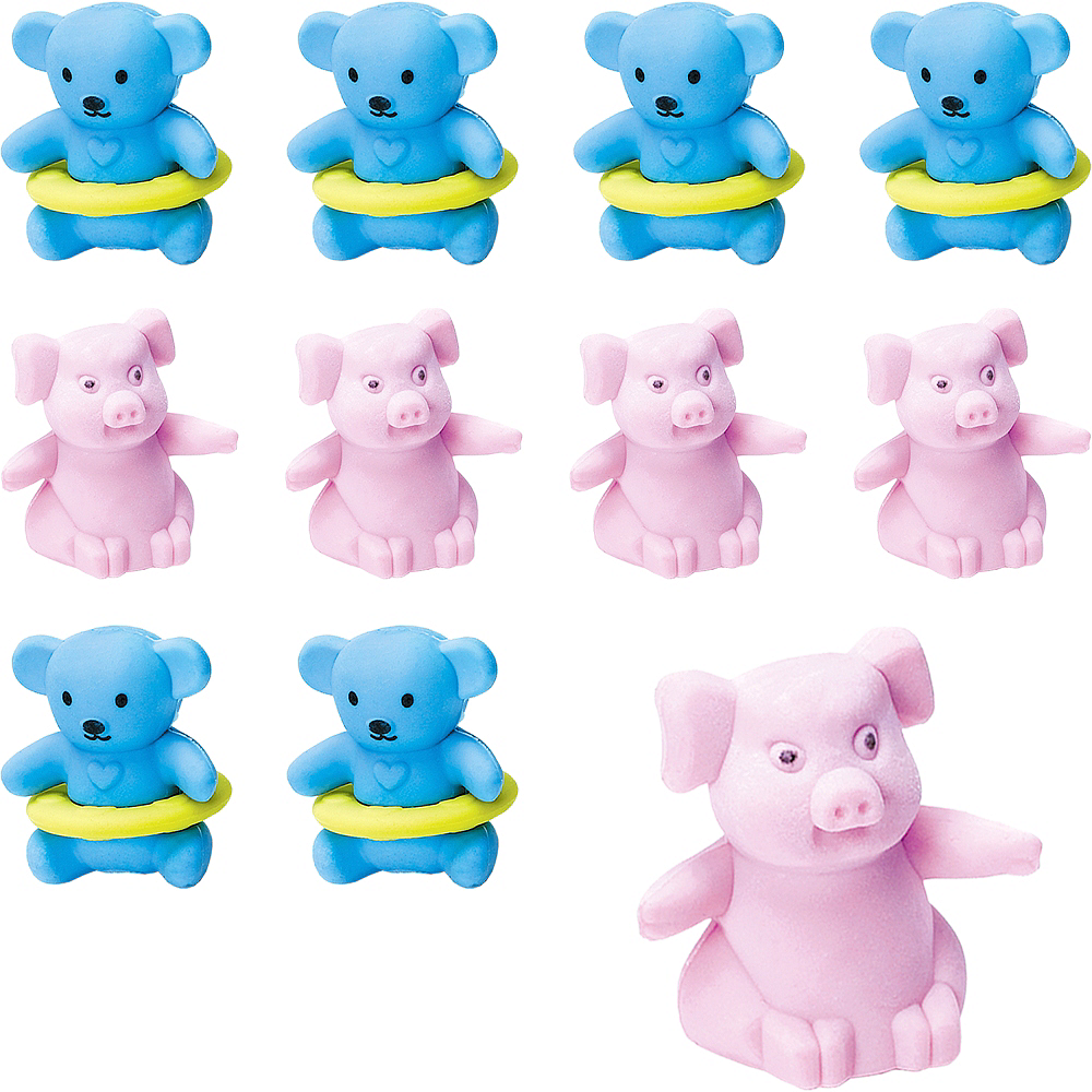 Pencil Eraser Toppers 48ct Image #1