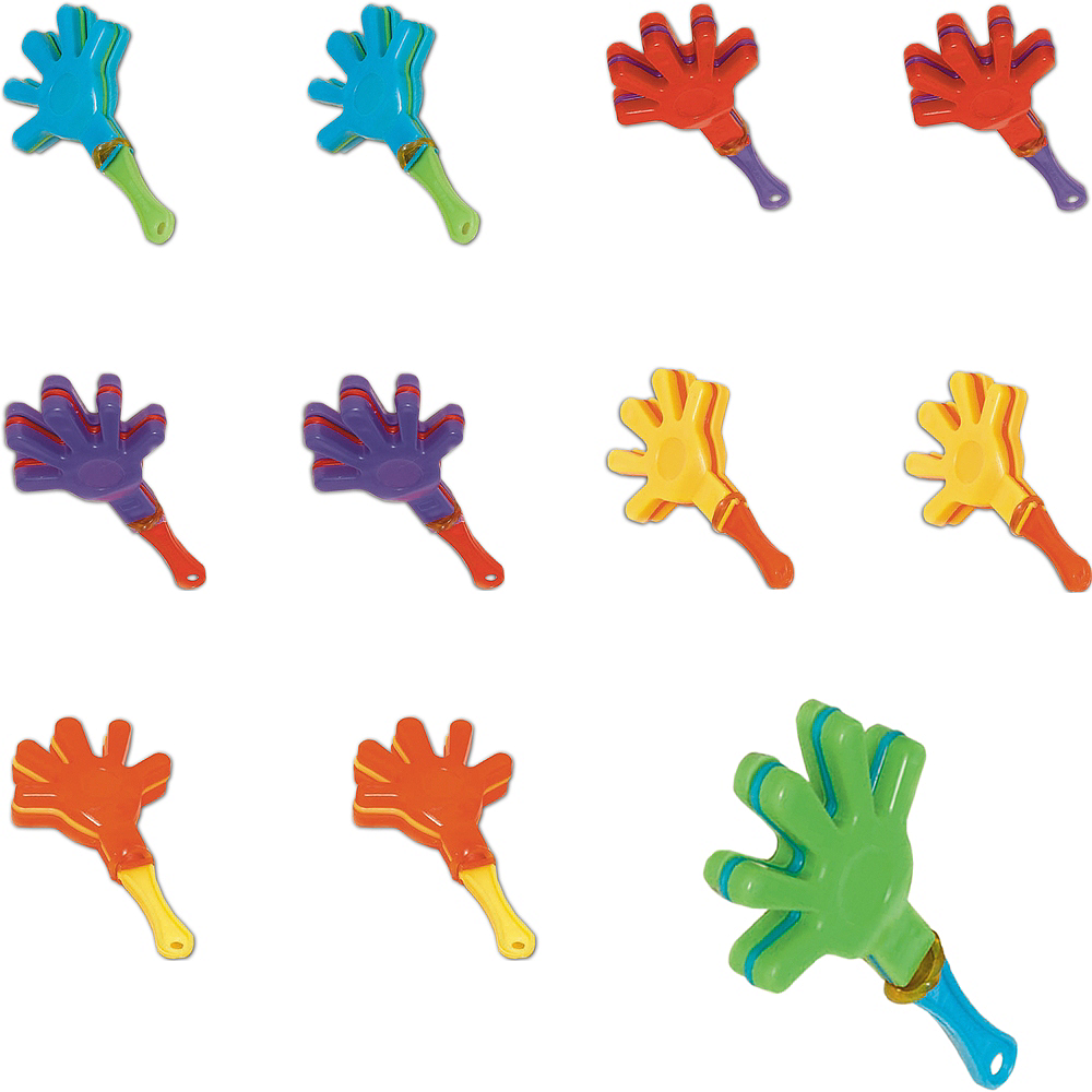Mini Hand Clappers 48ct Image #1