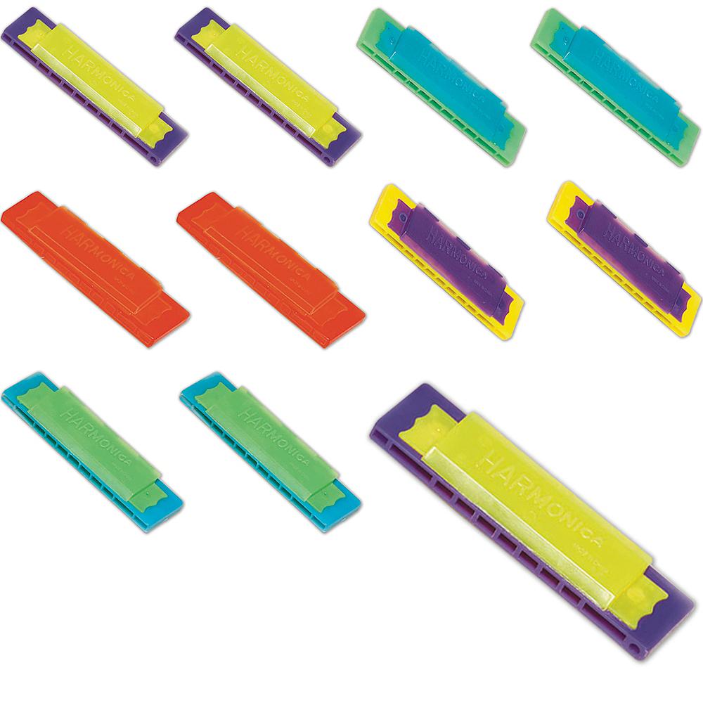 Mini Harmonicas 48ct Image #1
