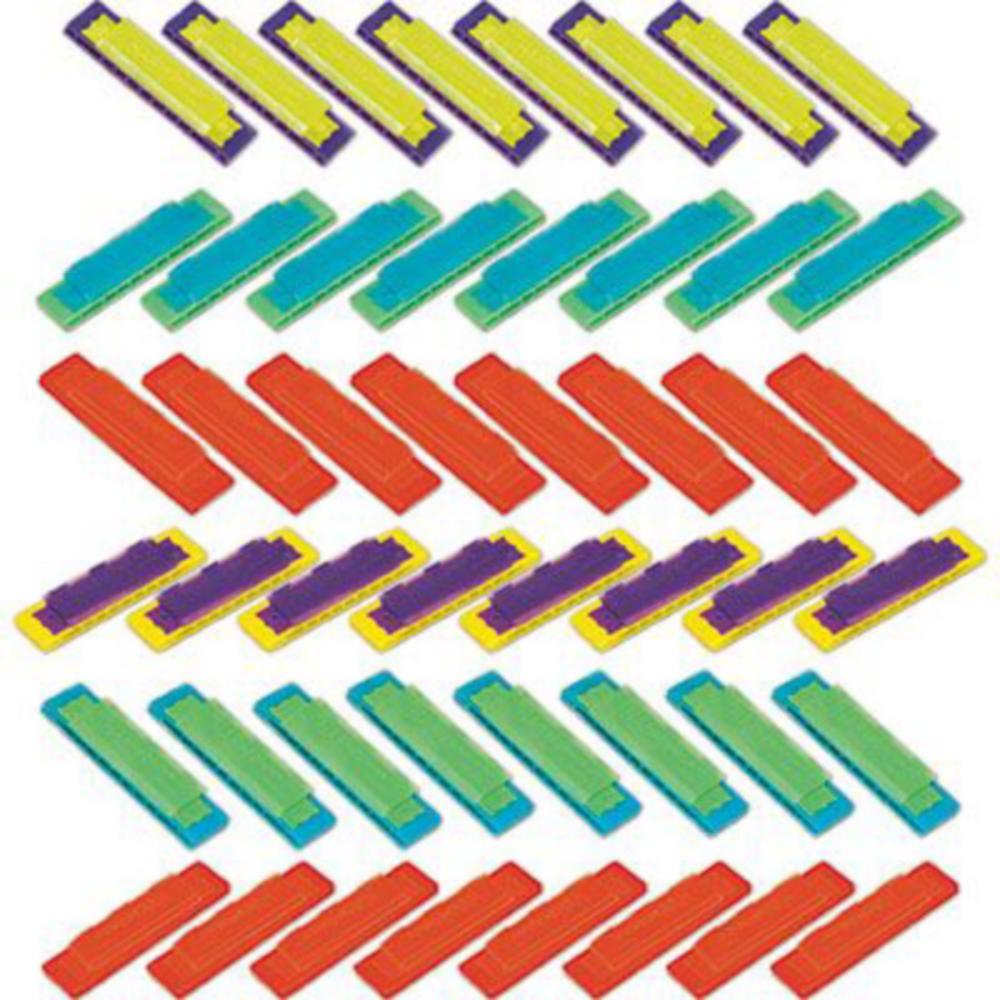 Mini Harmonicas 48ct Image #2