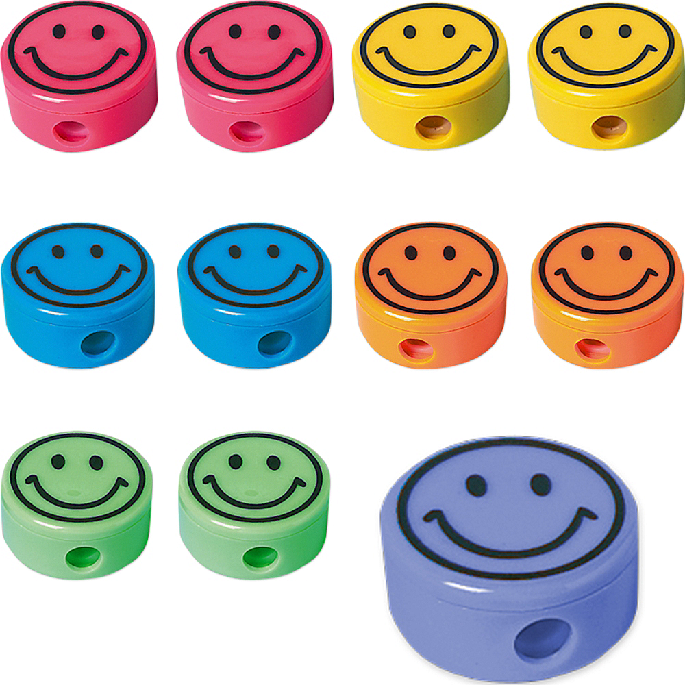 Smile Pencil Sharpeners 48ct Image #1