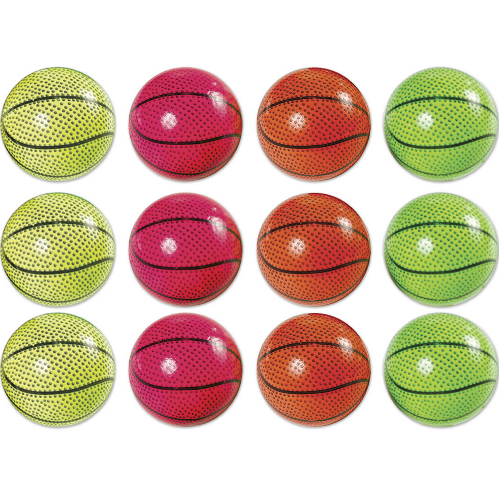 Sponge Basketballs 12ct Image #1