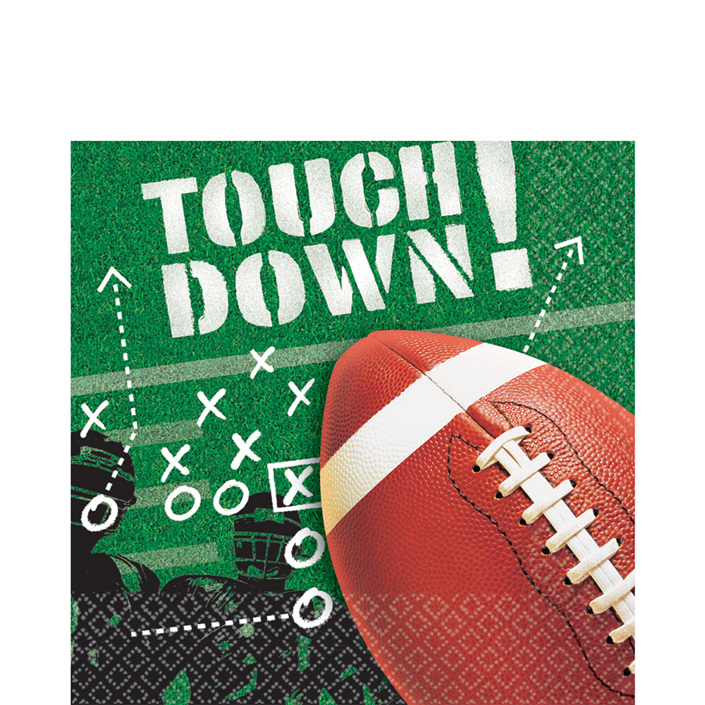 Football Frenzy Lunch Napkins 100ct Image #1