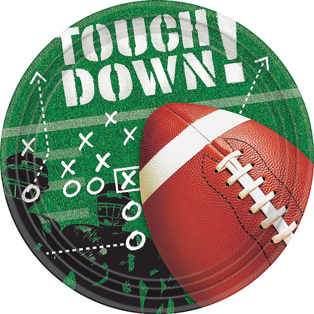 Football Frenzy Lunch Plates 50ct Image #1