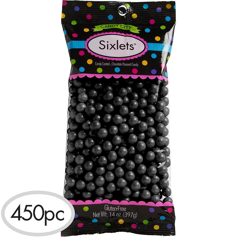 Black Chocolate Sixlets 450pc Image #1