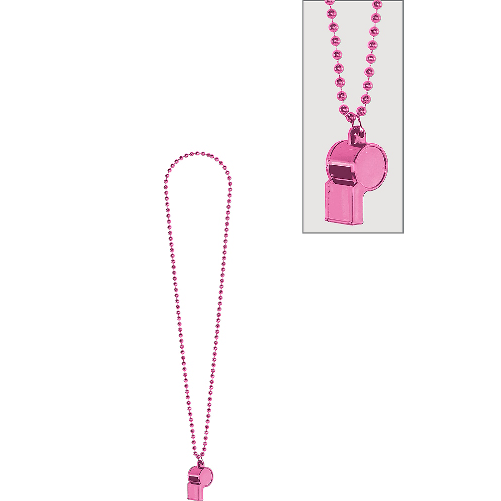 Pink Whistle Necklace Image #1