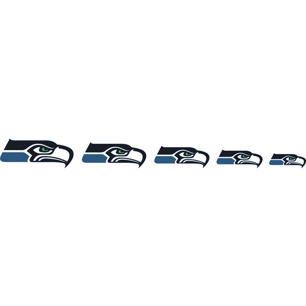 Seattle Seahawks Nail Tattoos 20ct Image #2