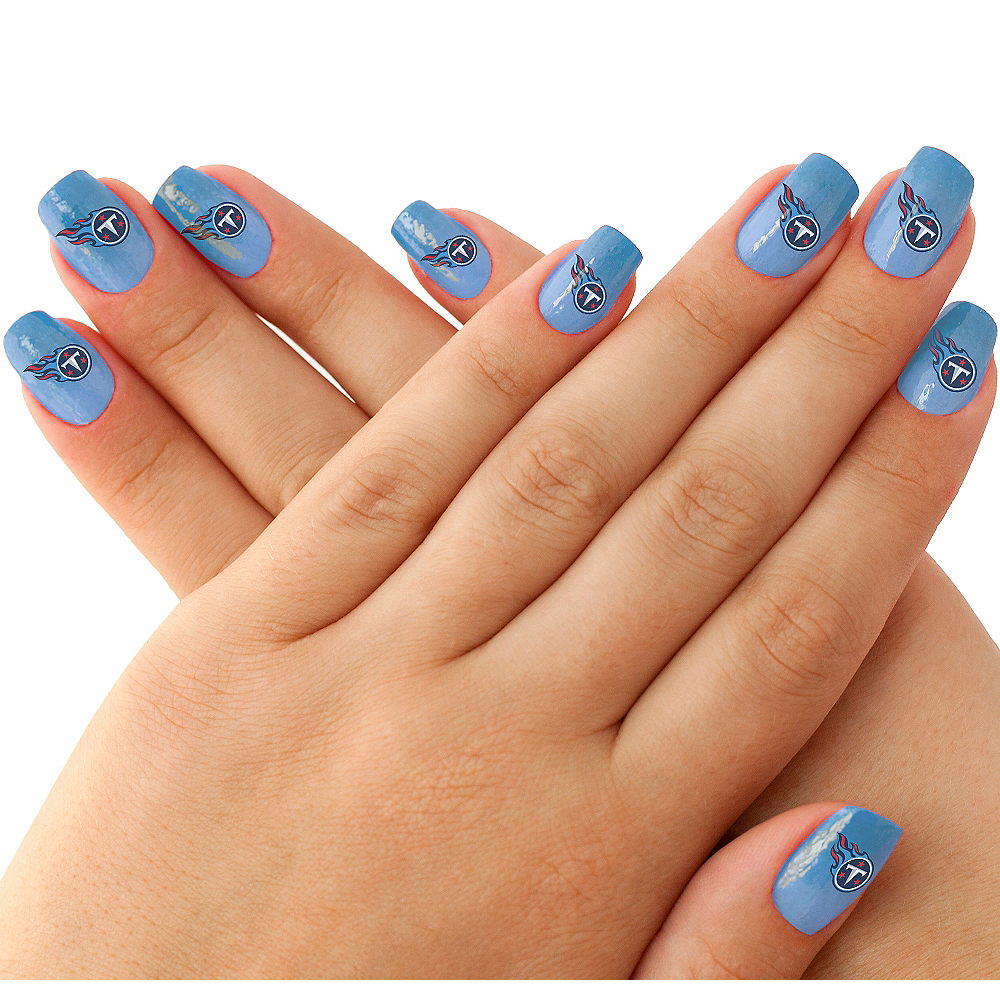 Tennessee Titans Nail Tattoos 20ct Image #1
