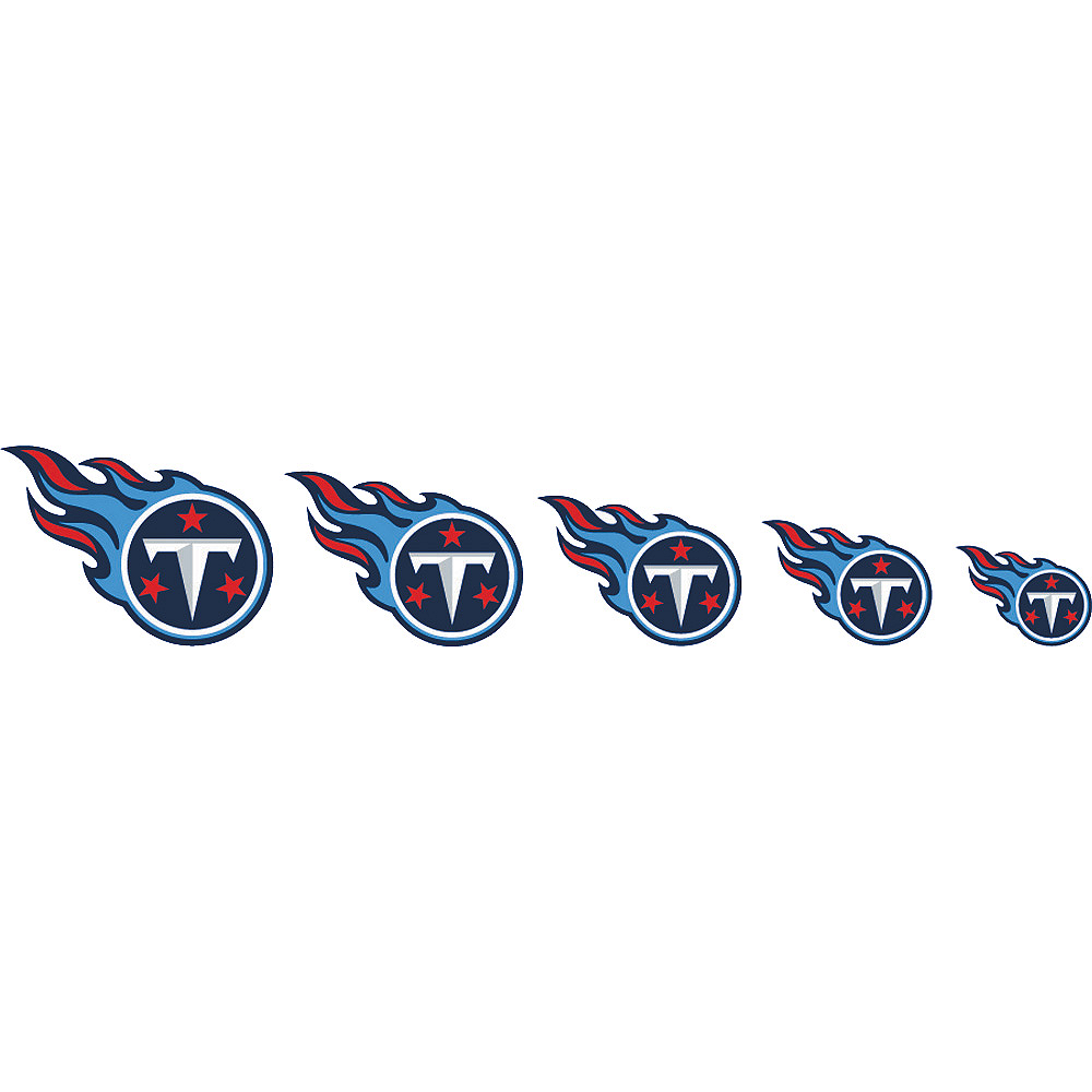 Tennessee Titans Nail Tattoos 20ct Image #2