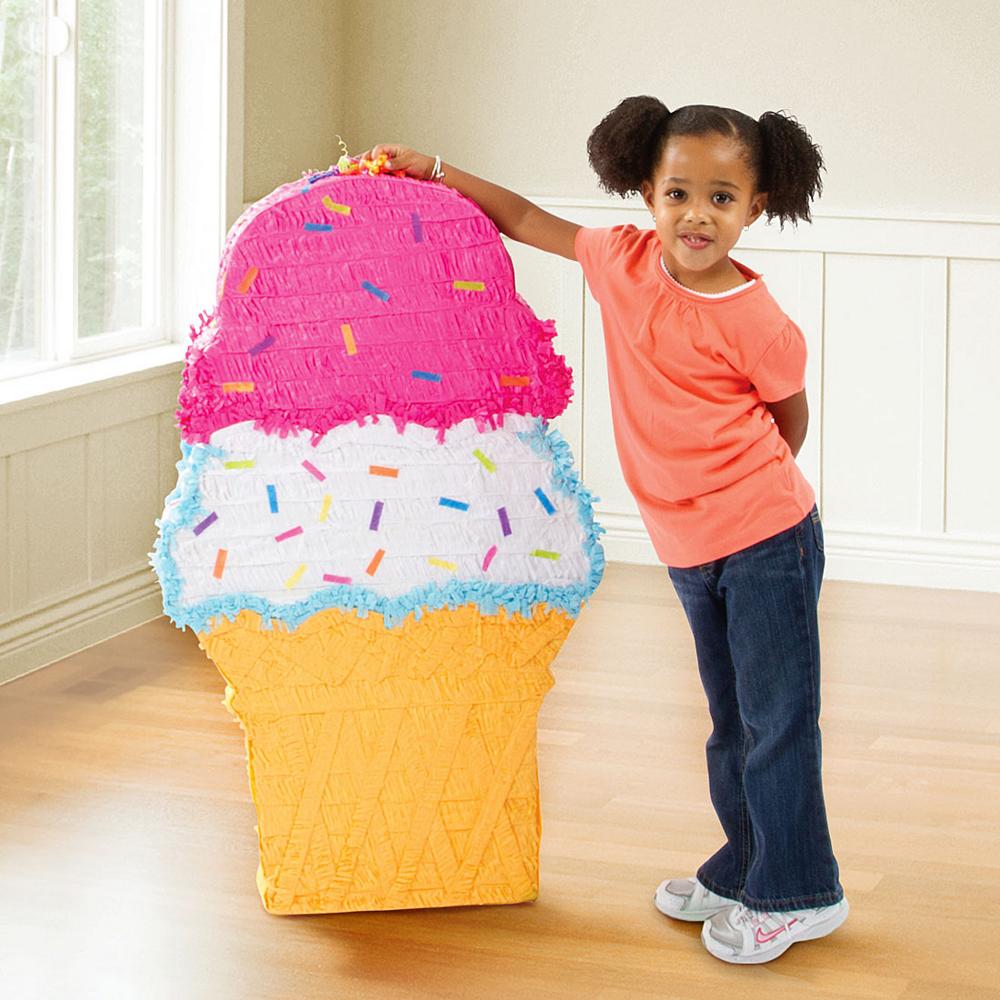 Giant Ice Cream Cone Pinata Image #2
