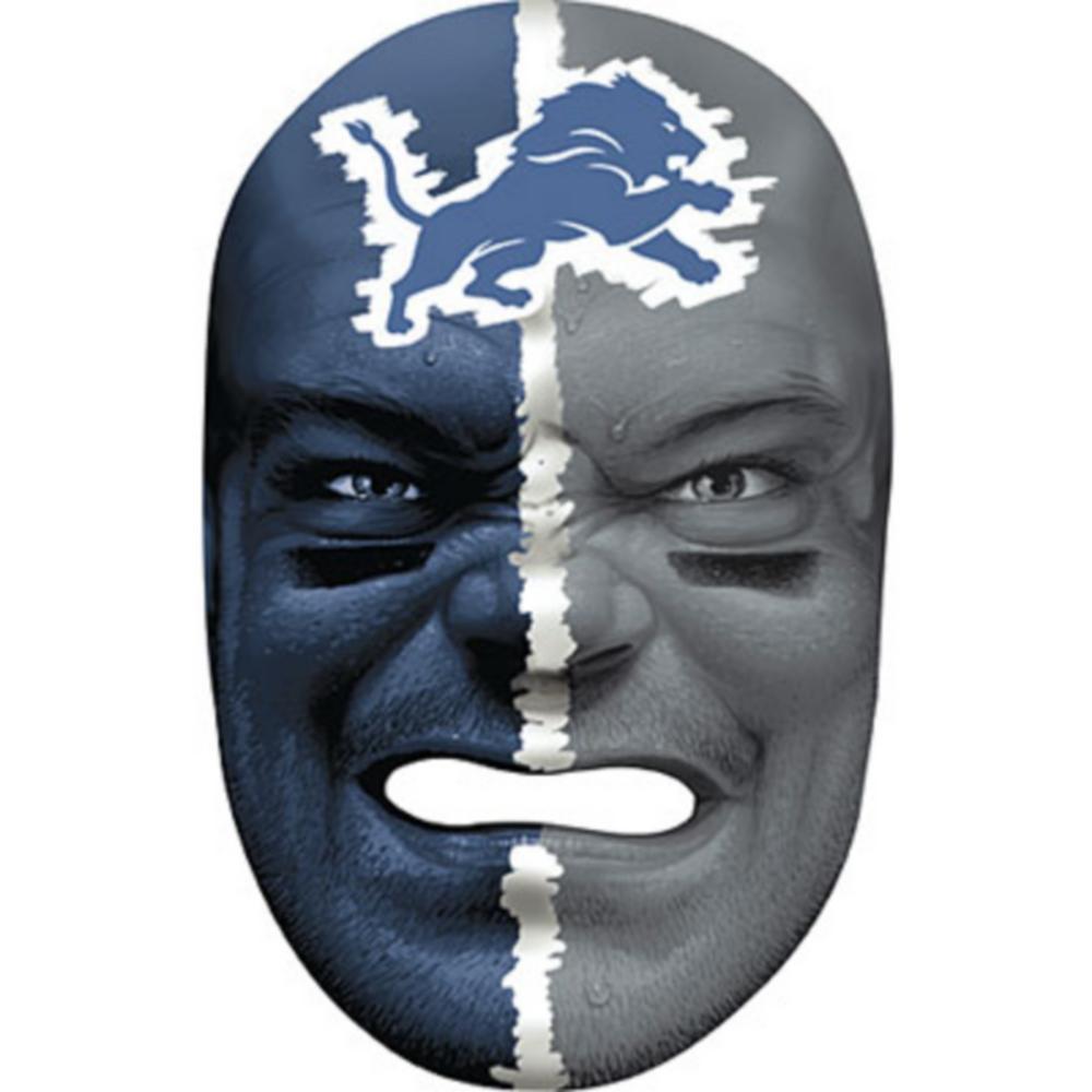 Detroit Lions Fan Face Mask Image #1