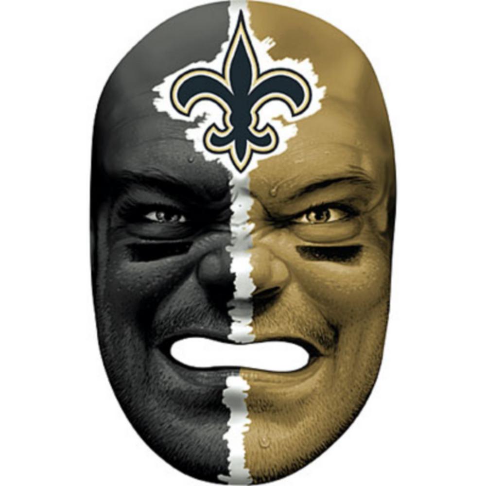 New Orleans Saints Fan Face Mask Image #1