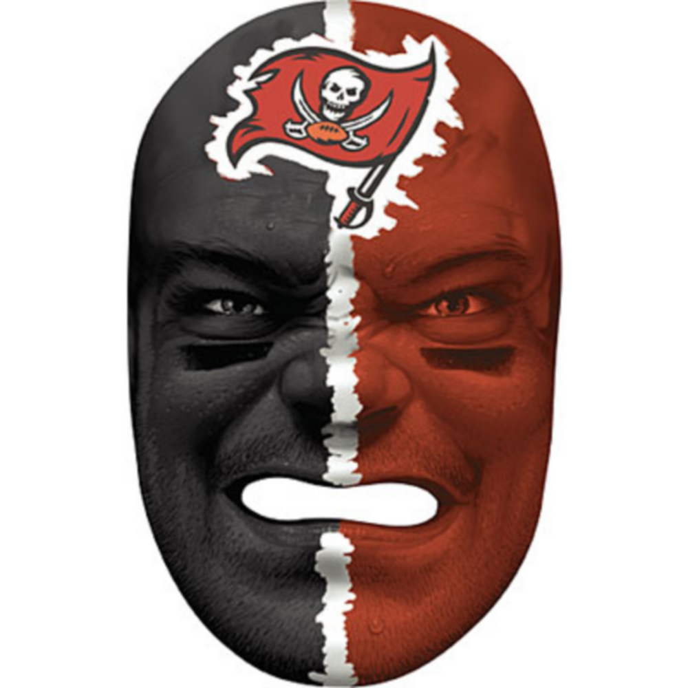 Tampa Bay Buccaneers Fan Face Mask Image #1