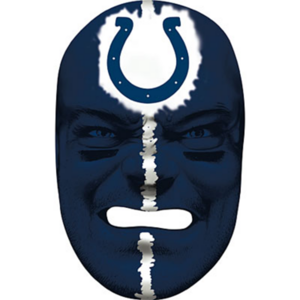 Indianapolis Colts Fan Face Mask Image #1