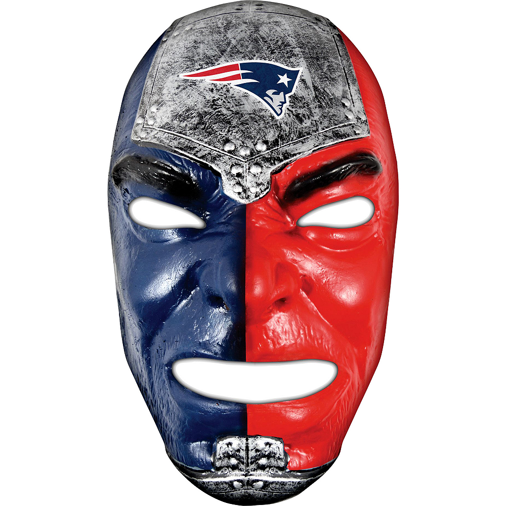 New England Patriots Fan Face Mask Image #1