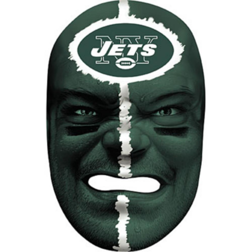 New York Jets Fan Face Mask Image #1