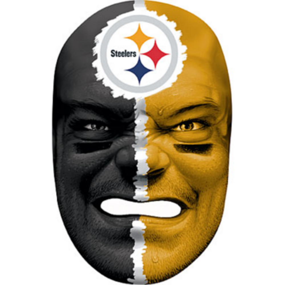 Pittsburgh Steelers Fan Face Mask Image #1