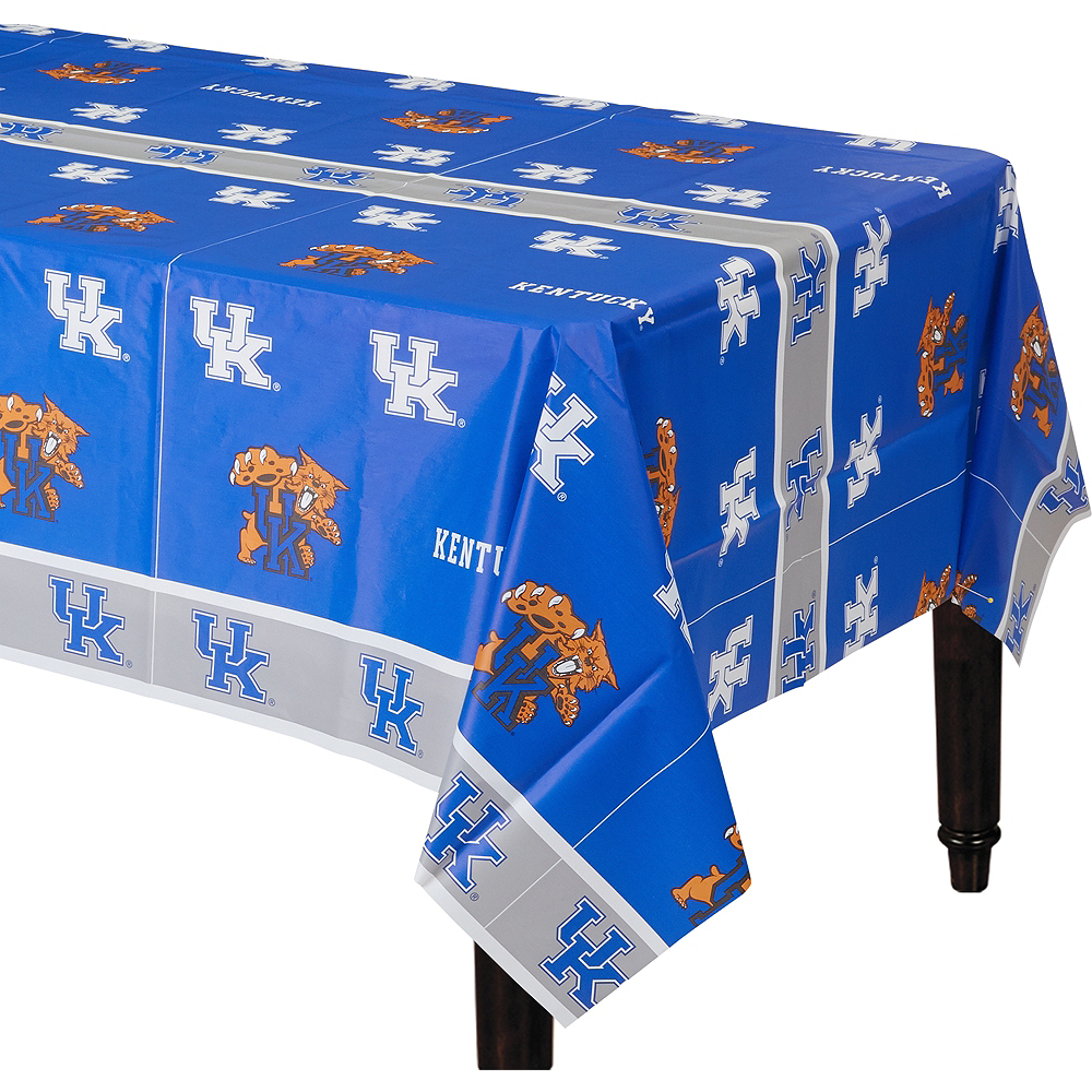 Kentucky Wildcats Plastic Table Cover Image #1