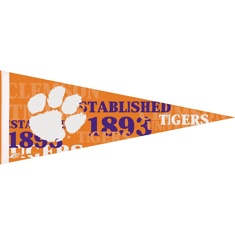 Clemson Tigers Pennant Flag Image #1