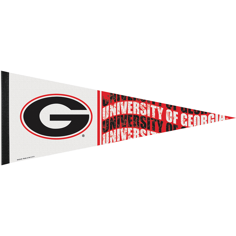 Georgia Bulldogs Pennant Flag Image #1