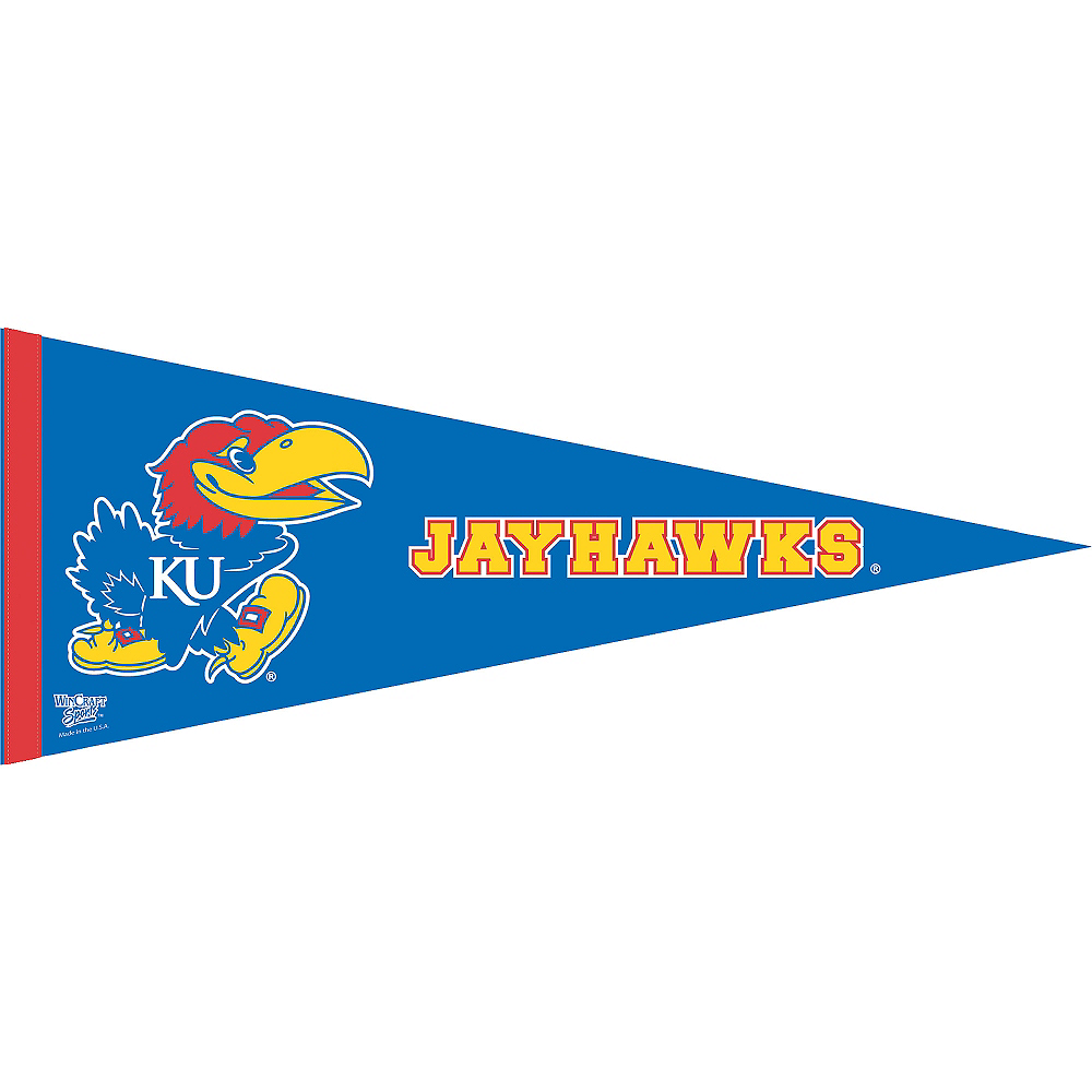 Nav Item for Kansas Jayhawks Pennant Flag Image #1