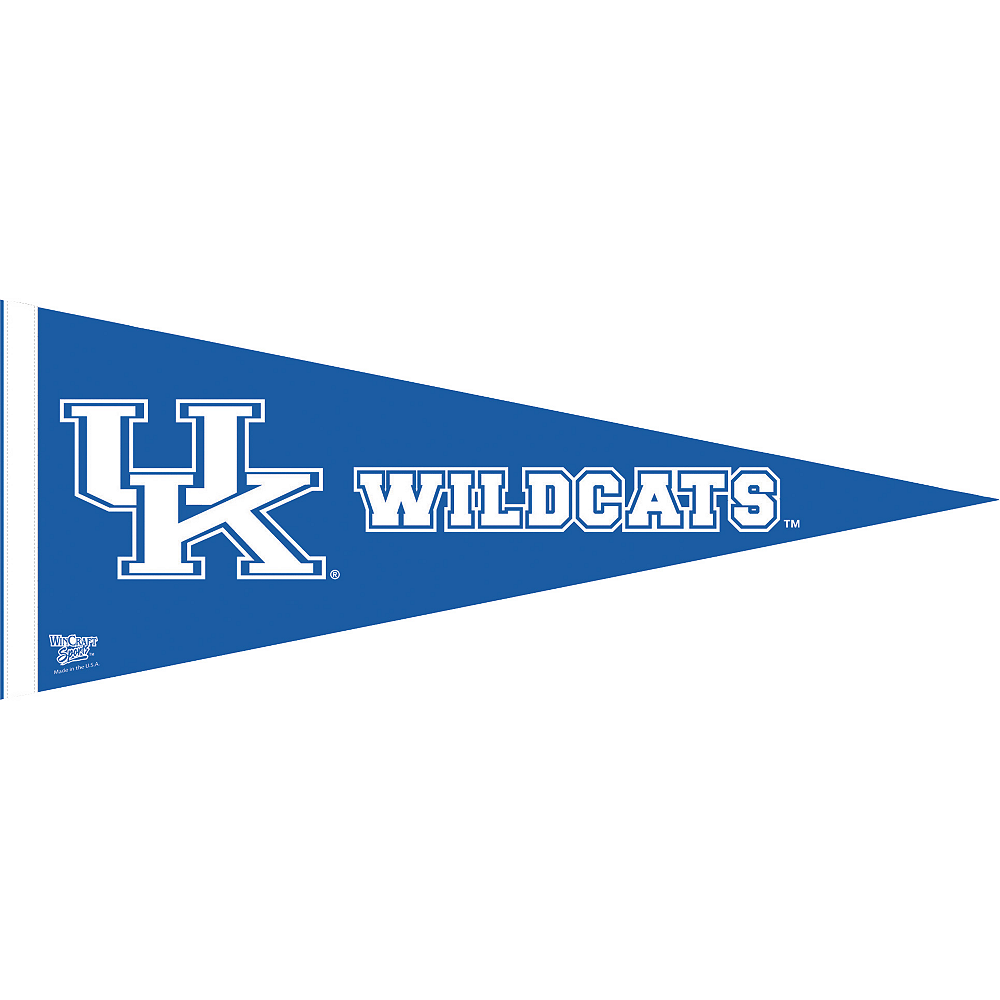 Kentucky Wildcats Pennant Flag Image #1
