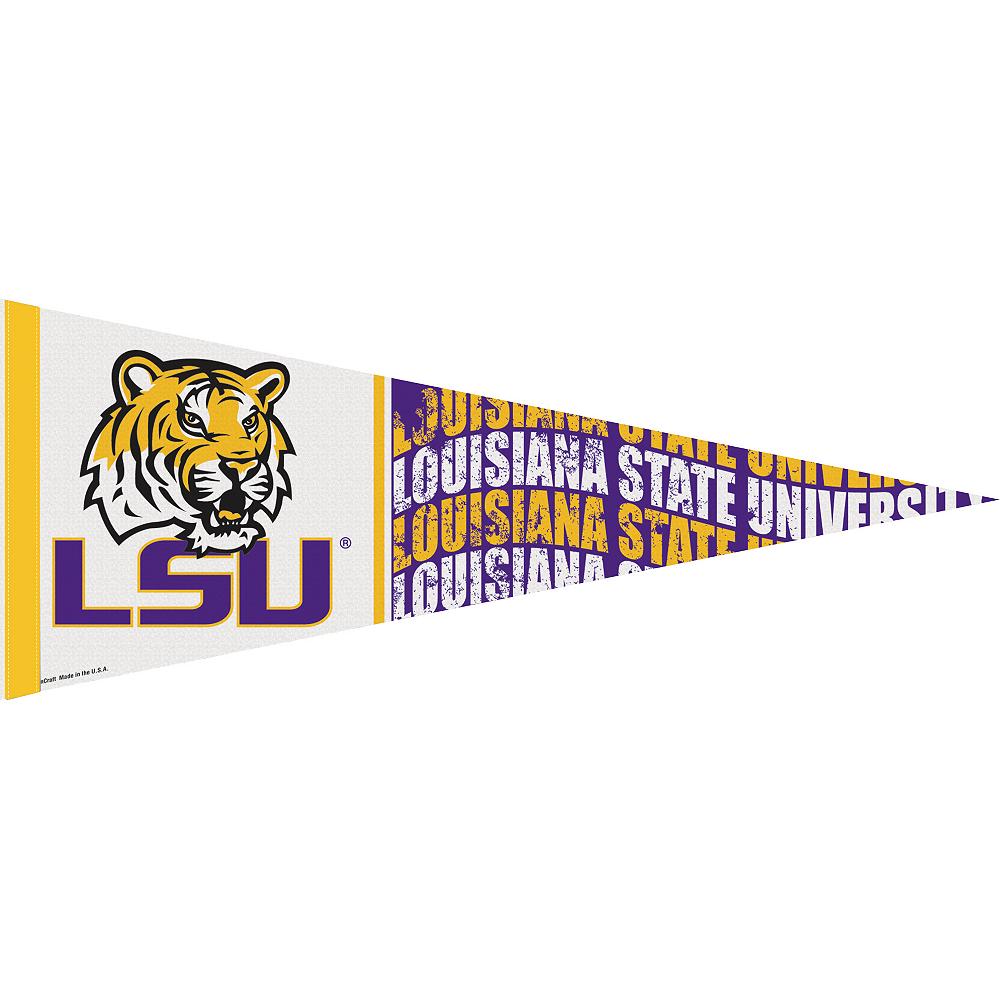 Louisiana State Tigers Pennant Flag Image #1