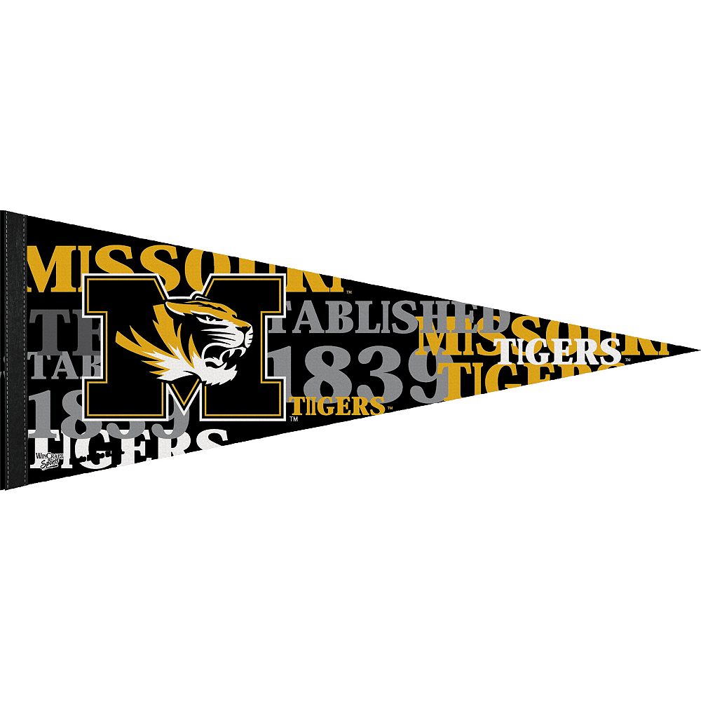 Nav Item for Missouri Tigers Pennant Flag Image #1