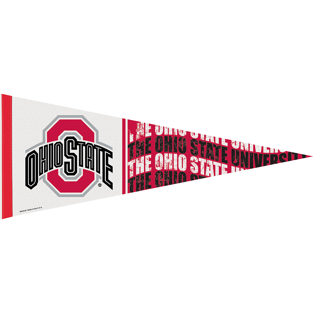 Ohio State Buckeyes Pennant Flag Image #1