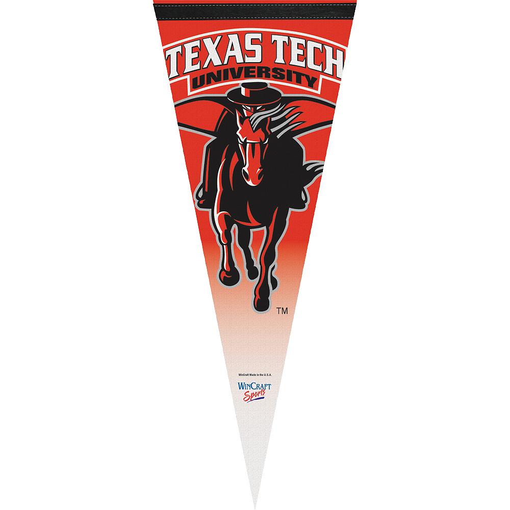 Texas Tech Red Raiders Pennant Flag Image #1