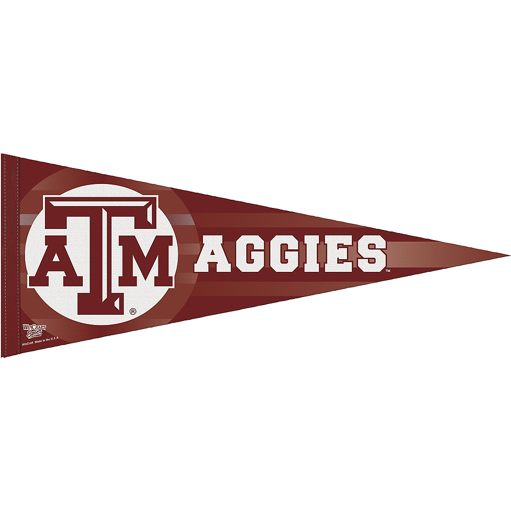 Nav Item for Texas A&M Aggies Pennant Flag Image #1