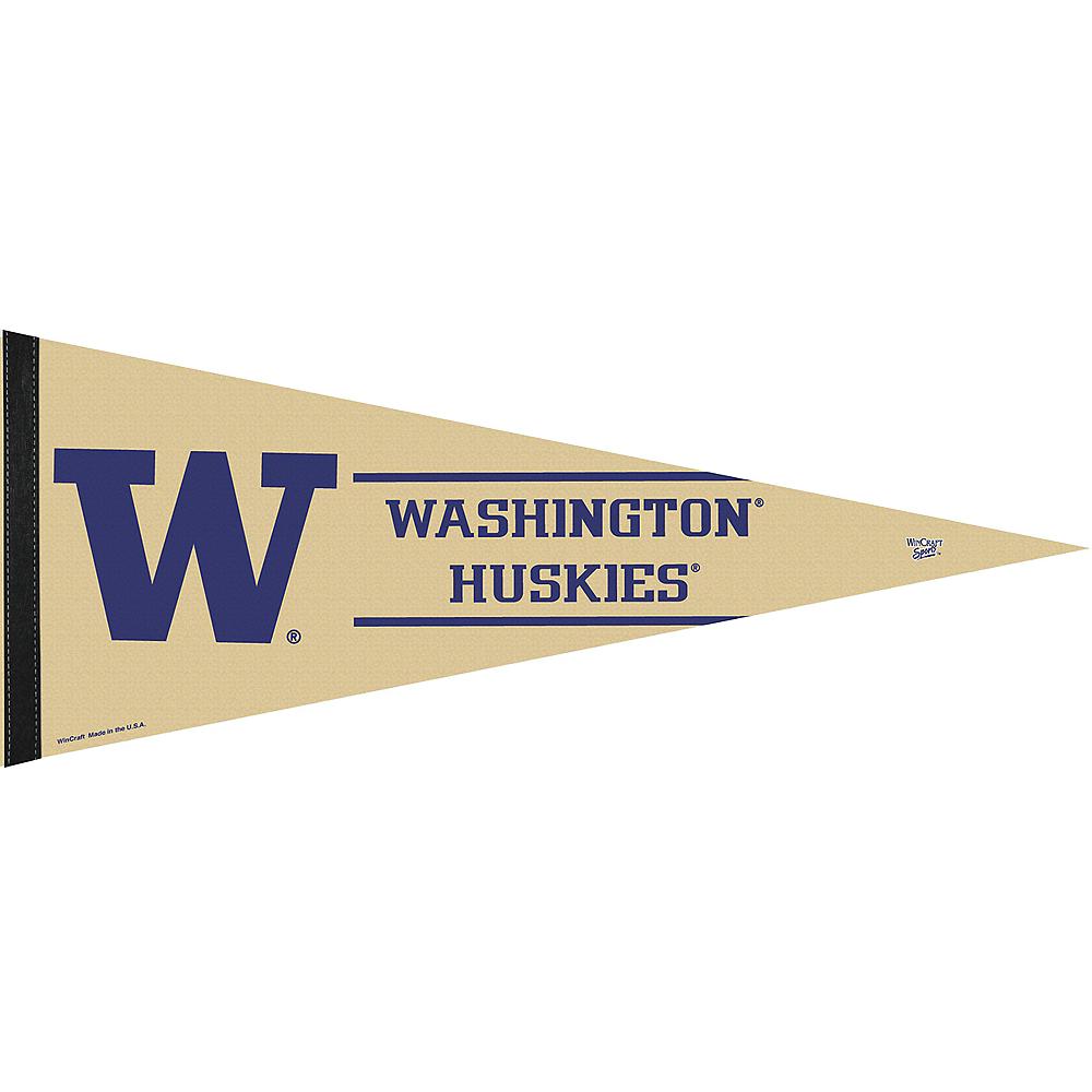 Washington Huskies Pennant Flag Image #1