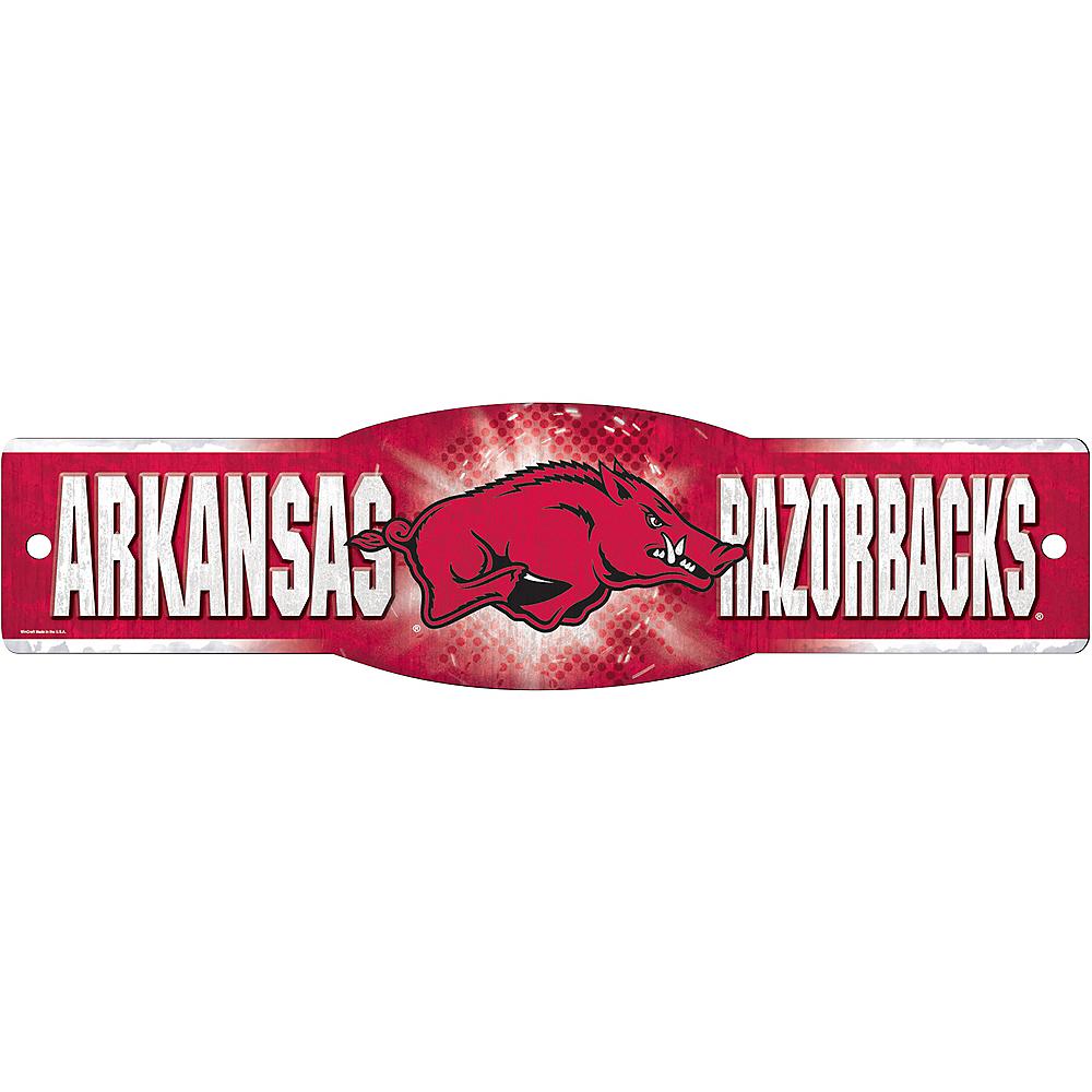 Arkansas Razorbacks Street Sign Image #1