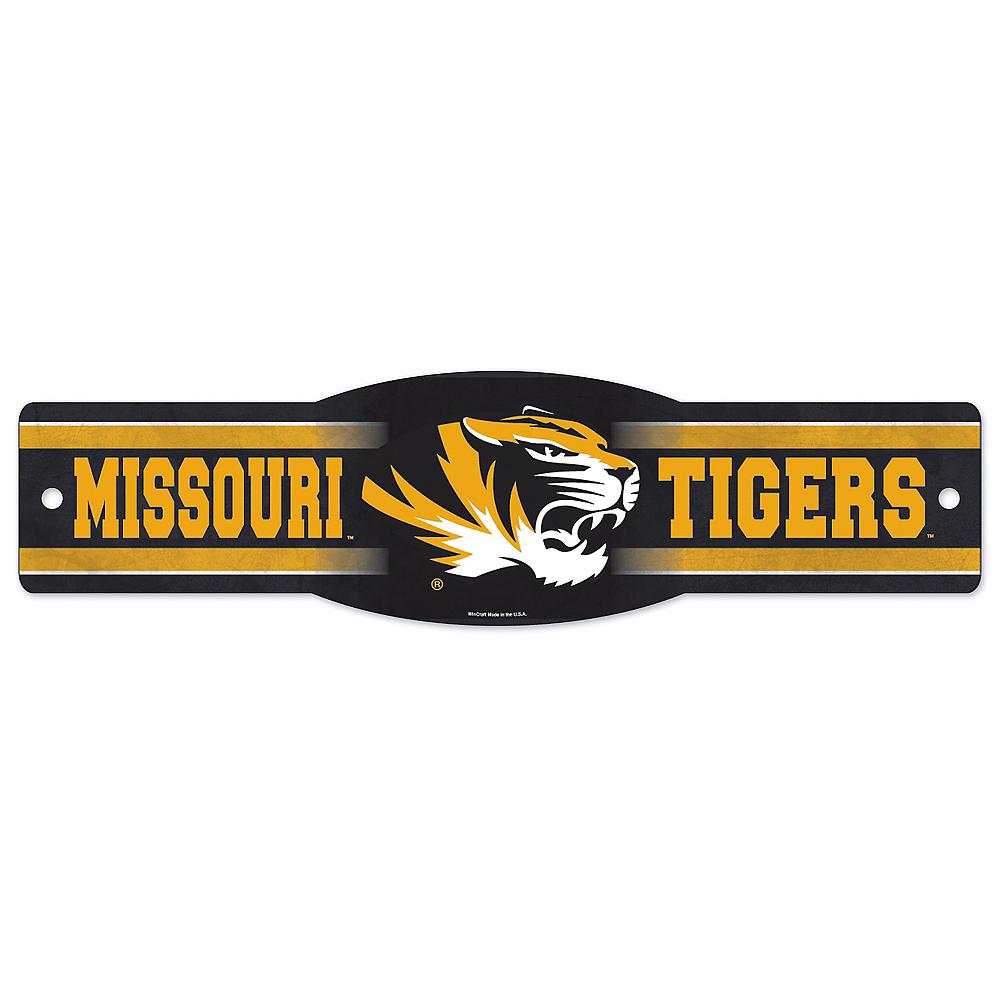 Missouri Tigers Street Sign Image #1