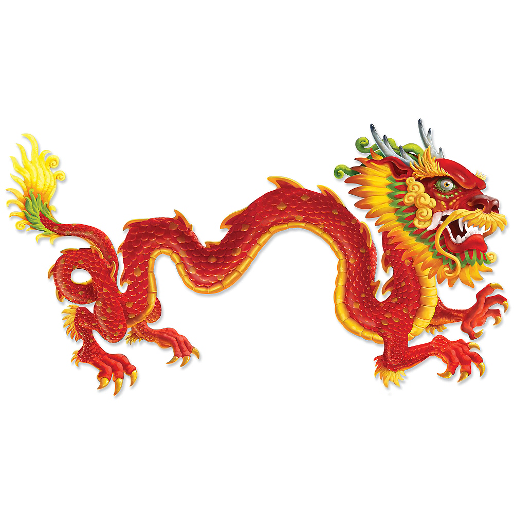 Chinese New Year Dragon Jointed Banner | Party City Canada