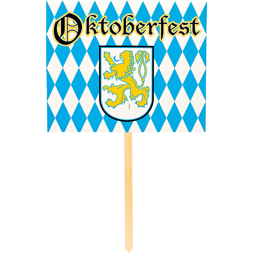 Nav Item for Oktoberfest Yard Stake Image #1