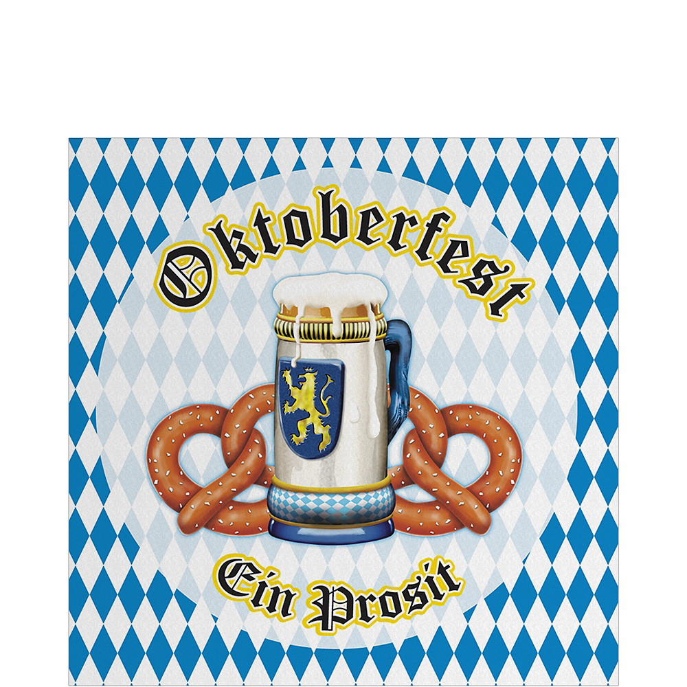 Oktoberfest Lunch Napkins 16ct Image #1