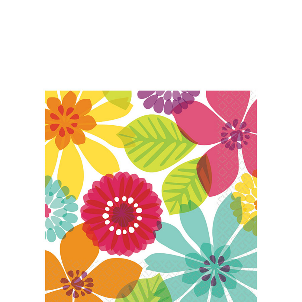 Day in Paradise Beverage Napkins 16ct Image #1